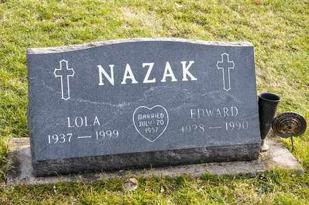 NAZAK, LOLA - Richland County, Ohio | LOLA NAZAK - Ohio Gravestone Photos