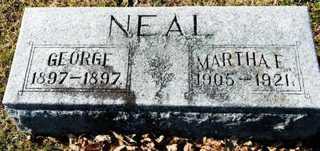 NEAL, GEORGE - Richland County, Ohio | GEORGE NEAL - Ohio Gravestone Photos