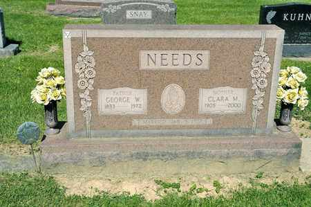 NEEDS, CLARA M - Richland County, Ohio | CLARA M NEEDS - Ohio Gravestone Photos