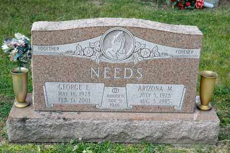 NEEDS, GEORGE E - Richland County, Ohio | GEORGE E NEEDS - Ohio Gravestone Photos