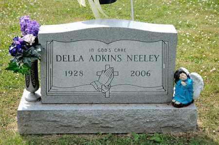 NEELEY, DELLA ADKINS - Richland County, Ohio | DELLA ADKINS NEELEY - Ohio Gravestone Photos