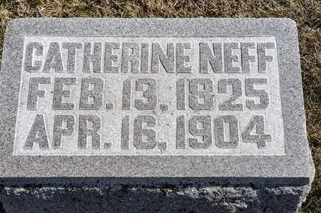 NEFF, CATHERINE - Richland County, Ohio | CATHERINE NEFF - Ohio Gravestone Photos