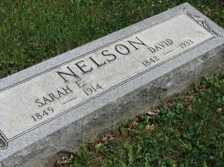 NELSON, SARAH E. - Richland County, Ohio | SARAH E. NELSON - Ohio Gravestone Photos