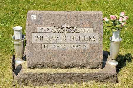 NETHERS, WILLIAM D - Richland County, Ohio | WILLIAM D NETHERS - Ohio Gravestone Photos