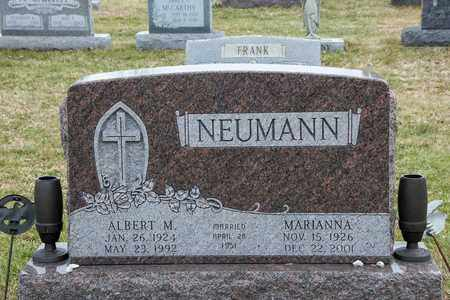 NEUMANN, MARIANNA - Richland County, Ohio | MARIANNA NEUMANN - Ohio Gravestone Photos