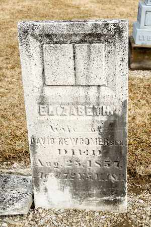 NEWCOMER, ELIZABETH - Richland County, Ohio | ELIZABETH NEWCOMER - Ohio Gravestone Photos