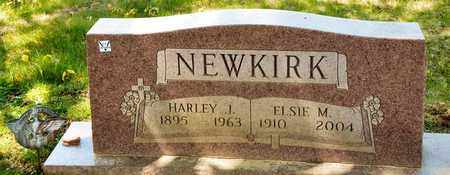 NEWKIRK, HARLEY J - Richland County, Ohio | HARLEY J NEWKIRK - Ohio Gravestone Photos