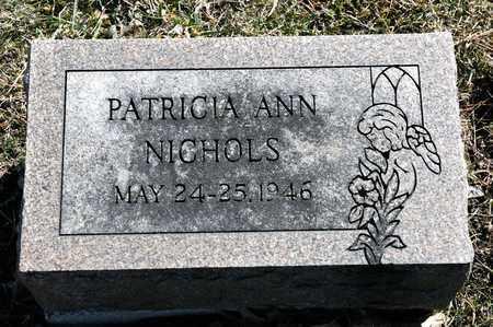 NICHOLS, PATRICIA ANN - Richland County, Ohio | PATRICIA ANN NICHOLS - Ohio Gravestone Photos