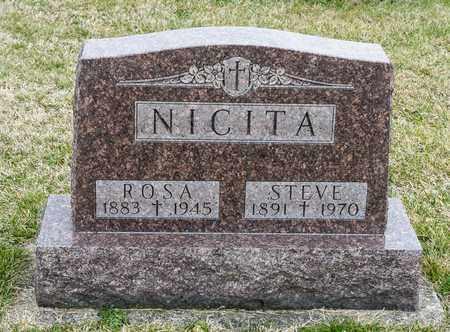 NICITA, STEVE - Richland County, Ohio | STEVE NICITA - Ohio Gravestone Photos