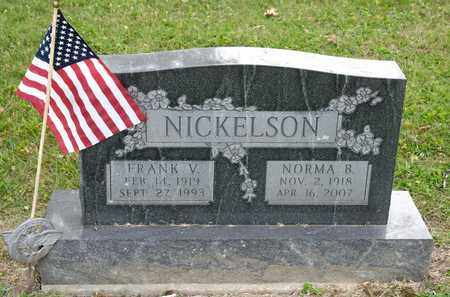 NICKELSON, NORMA B - Richland County, Ohio | NORMA B NICKELSON - Ohio Gravestone Photos
