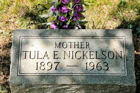 NICKELSON, TULA E - Richland County, Ohio | TULA E NICKELSON - Ohio Gravestone Photos