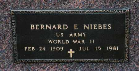 NIEBES, BERNARD E - Richland County, Ohio | BERNARD E NIEBES - Ohio Gravestone Photos