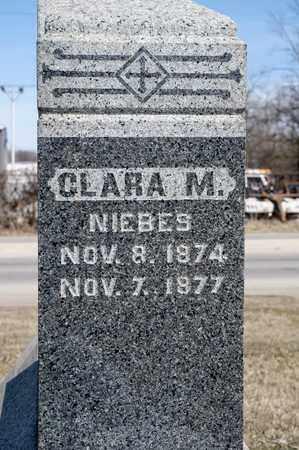 NIEBES, CLARA M - Richland County, Ohio | CLARA M NIEBES - Ohio Gravestone Photos