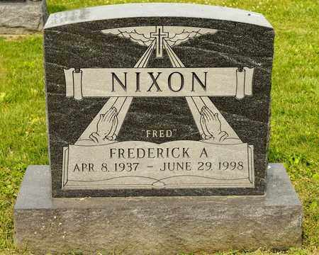 NIXON, FREDERICK A - Richland County, Ohio | FREDERICK A NIXON - Ohio Gravestone Photos