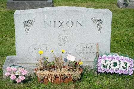 NIXON, MARY E - Richland County, Ohio | MARY E NIXON - Ohio Gravestone Photos