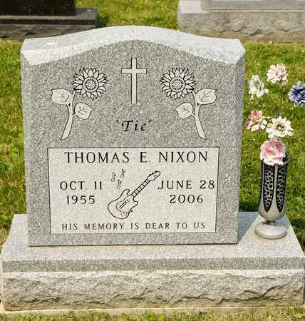NIXON, THOMAS E - Richland County, Ohio | THOMAS E NIXON - Ohio Gravestone Photos