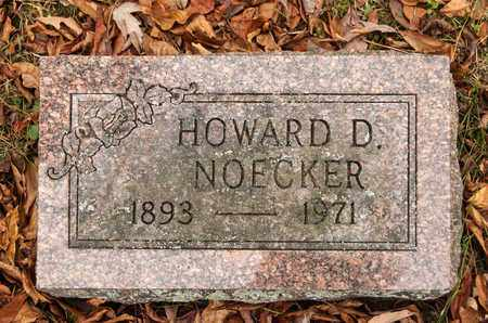 NOECKER, HOWARD D - Richland County, Ohio | HOWARD D NOECKER - Ohio Gravestone Photos