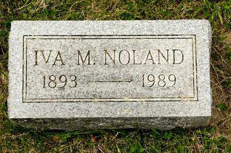 NOLAND, IVA M - Richland County, Ohio | IVA M NOLAND - Ohio Gravestone Photos