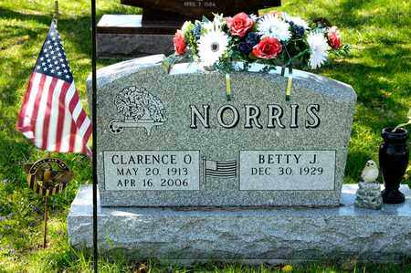 NORRIS, CLARENCE O - Richland County, Ohio | CLARENCE O NORRIS - Ohio Gravestone Photos