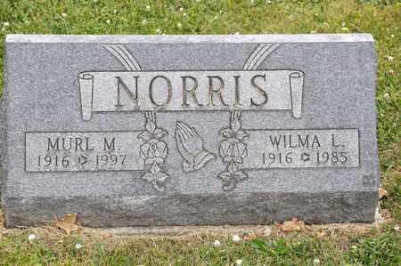 NORRIS, MURL M - Richland County, Ohio | MURL M NORRIS - Ohio Gravestone Photos
