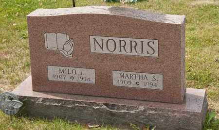 NORRIS, MARTHA S - Richland County, Ohio | MARTHA S NORRIS - Ohio Gravestone Photos