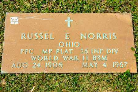 NORRIS, RUSSEL E - Richland County, Ohio | RUSSEL E NORRIS - Ohio Gravestone Photos