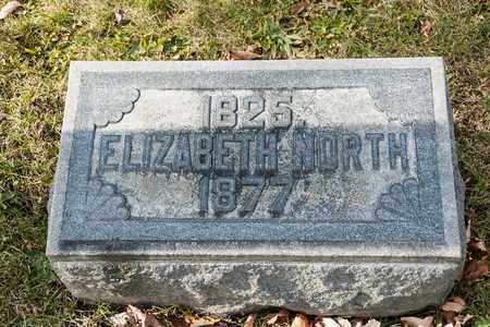 NORTH, ELIZABETH - Richland County, Ohio | ELIZABETH NORTH - Ohio Gravestone Photos