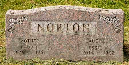 NORTON, EMMA L - Richland County, Ohio | EMMA L NORTON - Ohio Gravestone Photos