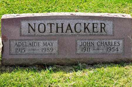 NOTHACKER, JOHN CHARLES - Richland County, Ohio | JOHN CHARLES NOTHACKER - Ohio Gravestone Photos