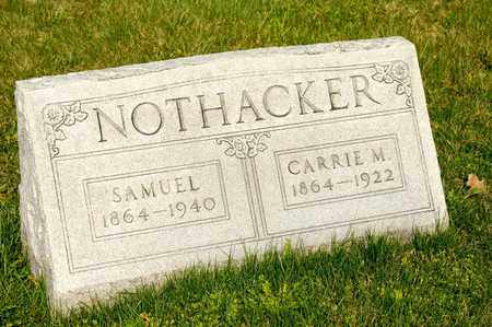 NOTHACKER, SAMUEL - Richland County, Ohio | SAMUEL NOTHACKER - Ohio Gravestone Photos