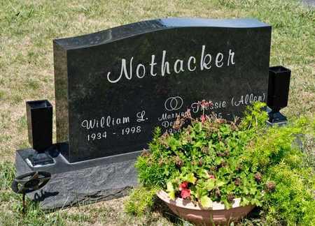 NOTHACKER, WILLIAM L - Richland County, Ohio | WILLIAM L NOTHACKER - Ohio Gravestone Photos