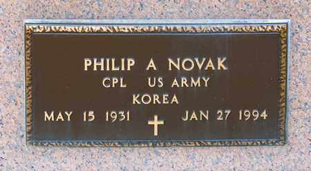 NOVAK, PHILIP A - Richland County, Ohio | PHILIP A NOVAK - Ohio Gravestone Photos
