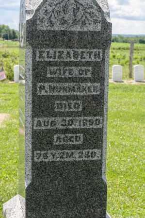 NUNMAKER, ELIZABETH - Richland County, Ohio | ELIZABETH NUNMAKER - Ohio Gravestone Photos