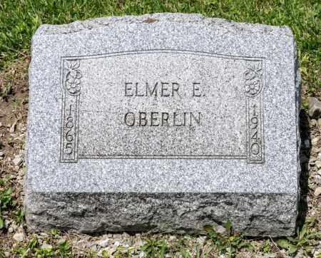 OBERLIN, ELMER E - Richland County, Ohio | ELMER E OBERLIN - Ohio Gravestone Photos