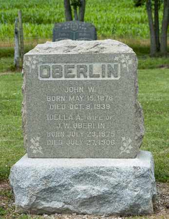 OBERLIN, JOHN W - Richland County, Ohio | JOHN W OBERLIN - Ohio Gravestone Photos