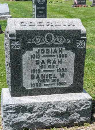 SNAVELY OBERLIN, SARAH - Richland County, Ohio | SARAH SNAVELY OBERLIN - Ohio Gravestone Photos