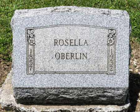 OBERLIN, ROSELLA - Richland County, Ohio | ROSELLA OBERLIN - Ohio Gravestone Photos