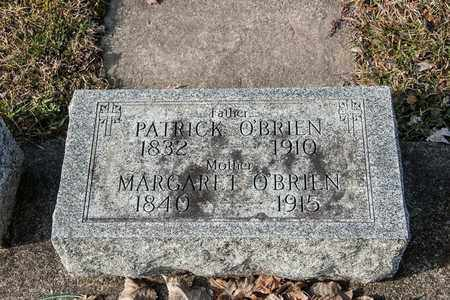 O'BRIEN, PATRICK - Richland County, Ohio | PATRICK O'BRIEN - Ohio Gravestone Photos