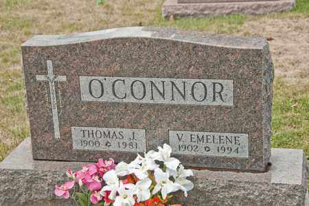O'CONNOR, V EMELENE - Richland County, Ohio | V EMELENE O'CONNOR - Ohio Gravestone Photos