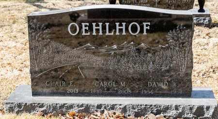 OEHLHOF, CLAIR E - Richland County, Ohio | CLAIR E OEHLHOF - Ohio Gravestone Photos