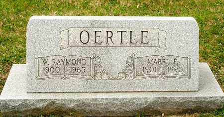 OERTLE, W RAYMOND - Richland County, Ohio | W RAYMOND OERTLE - Ohio Gravestone Photos