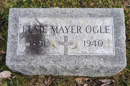 MAYER OGLE, ELSIE - Richland County, Ohio | ELSIE MAYER OGLE - Ohio Gravestone Photos