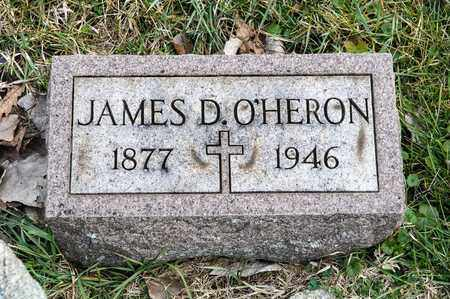 O'HERON, JAMES D - Richland County, Ohio | JAMES D O'HERON - Ohio Gravestone Photos