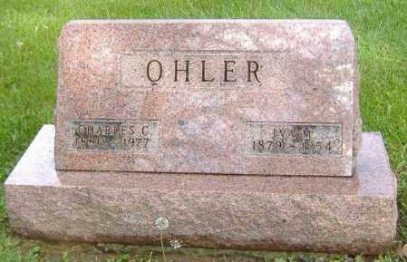 OHLER, IVA M. - Richland County, Ohio | IVA M. OHLER - Ohio Gravestone Photos