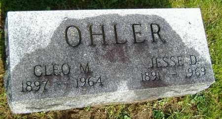 OHLER, JESSE DAY - Richland County, Ohio | JESSE DAY OHLER - Ohio Gravestone Photos