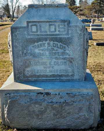 OLDS, FRANK S - Richland County, Ohio | FRANK S OLDS - Ohio Gravestone Photos