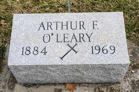 O'LEARY, ARTHUR F - Richland County, Ohio | ARTHUR F O'LEARY - Ohio Gravestone Photos