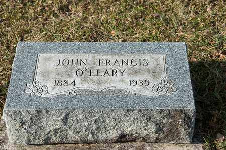O'LEARY, JOHN FRANCIS - Richland County, Ohio | JOHN FRANCIS O'LEARY - Ohio Gravestone Photos