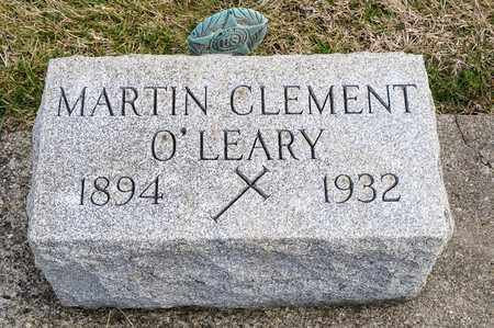 O'LEARY, MARTIN CLEMENT - Richland County, Ohio | MARTIN CLEMENT O'LEARY - Ohio Gravestone Photos