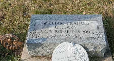 O'LEARY, WILLIAM FRANCIS - Richland County, Ohio | WILLIAM FRANCIS O'LEARY - Ohio Gravestone Photos